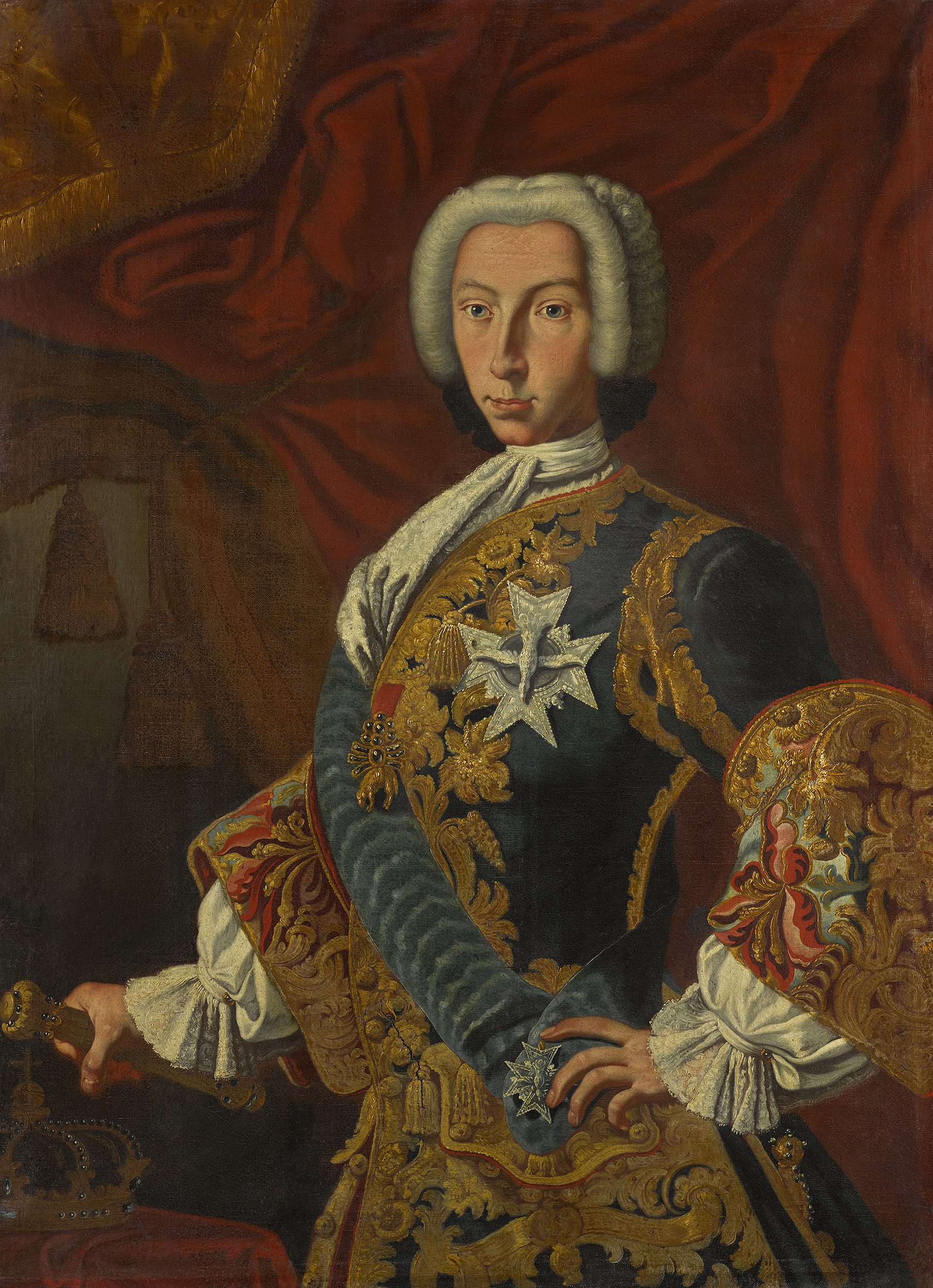 foto de Portrait of Charles VII and V (1716-1788), King of Naples and ...