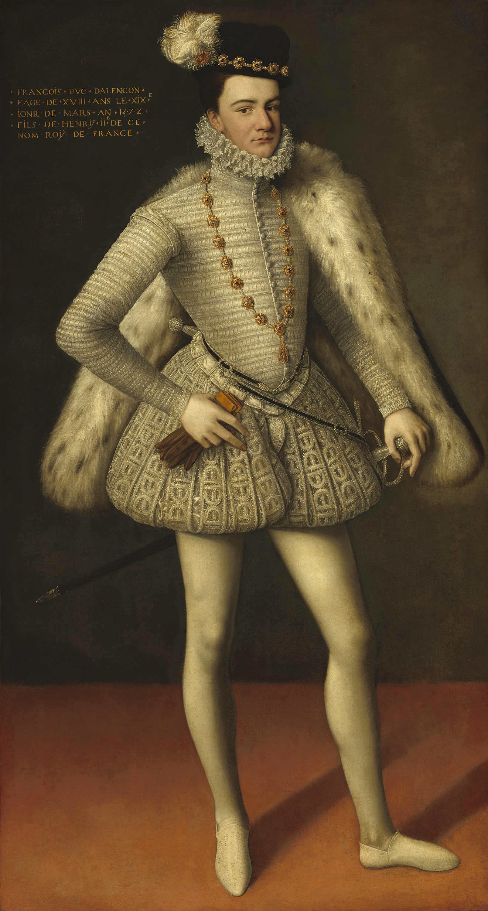 Portrait of Francis (1555-1584), Duke of Alençon (1566-1584), Duke of Anjou (1576-1584), heir presumptive to the throne of France from 1574 to 1584, 1572 | Portraits of Kings