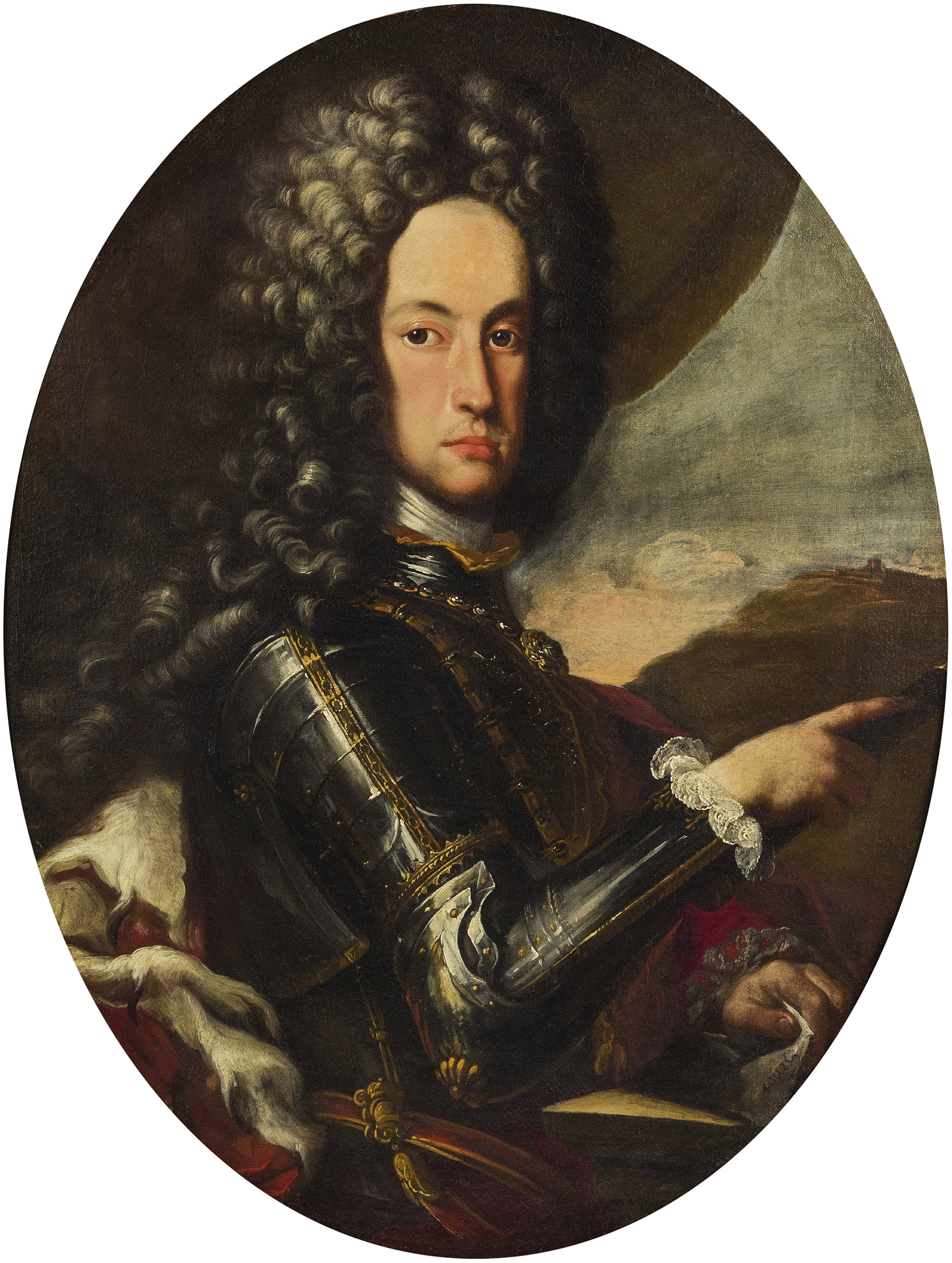 Portrait of Charles VI (1685-1740), Holy Roman Emperor, King of Hungary and Bohemia, Archduke of Austria (1711-1740), Duke of Brabant, Limburg and Milan, Count of Flanders and Hainaut (1714-1740); King of Naples (1714-1735), King of Sicily (1720-1734) | Portraits of Kings