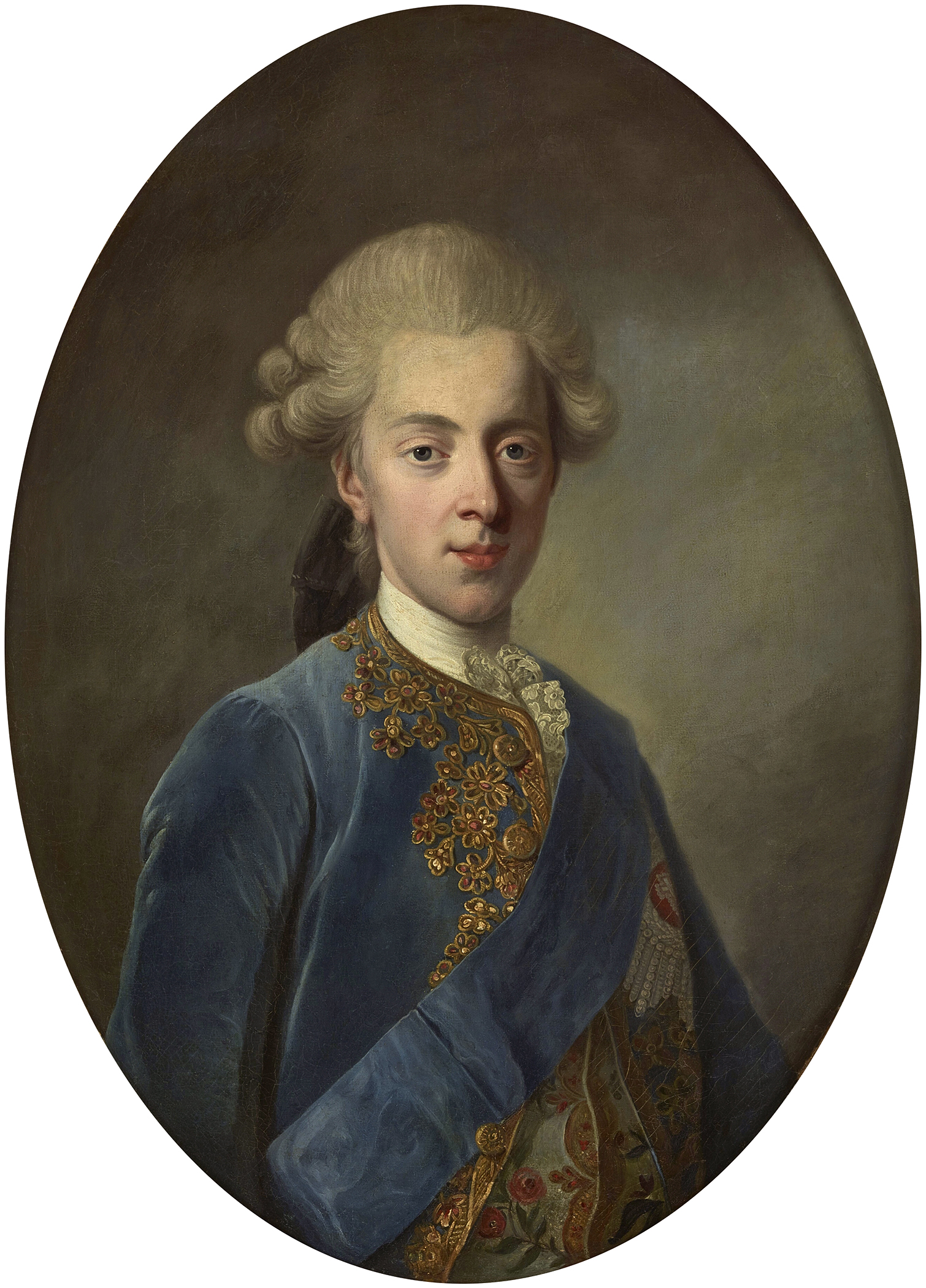 Portrait of Christian VII (1749-1808), King of Denmark and Norway, Duke of Schleswig, Duke of Holstein (1766-1808), Regency (1772-1808) | Portraits of Kings