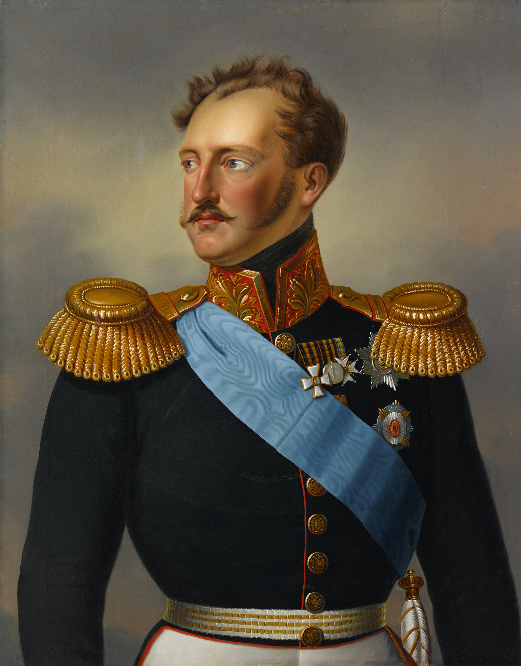 Portrait of Nicholas I (1796-1855), Emperor and Autocrat of All the Russias (1825-1855) | Portraits of Kings
