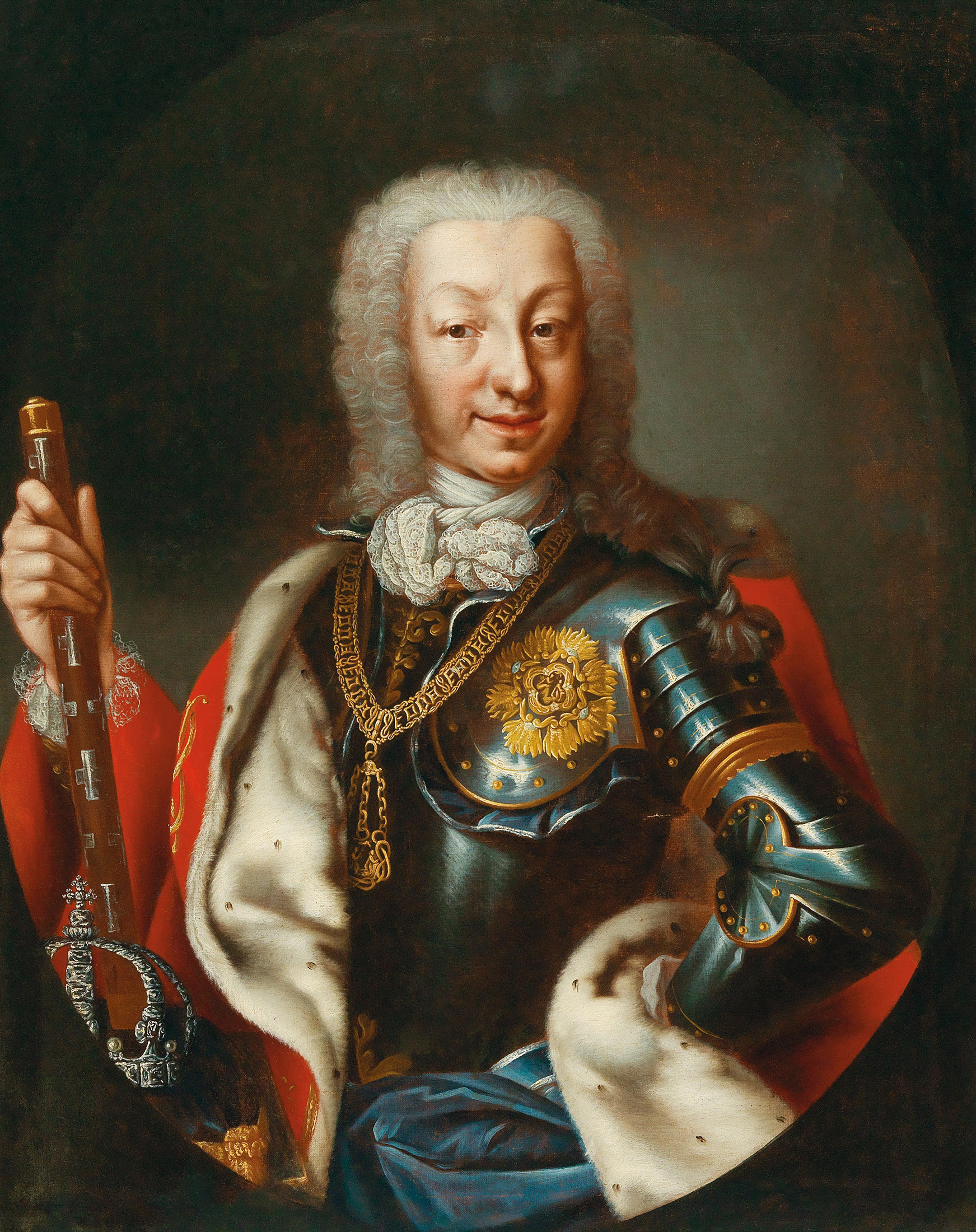 Portrait of Charles Emmanuel III (1701-1773), King of Sardinia and Duke of Savoy (1730-1773) | Portraits of Kings