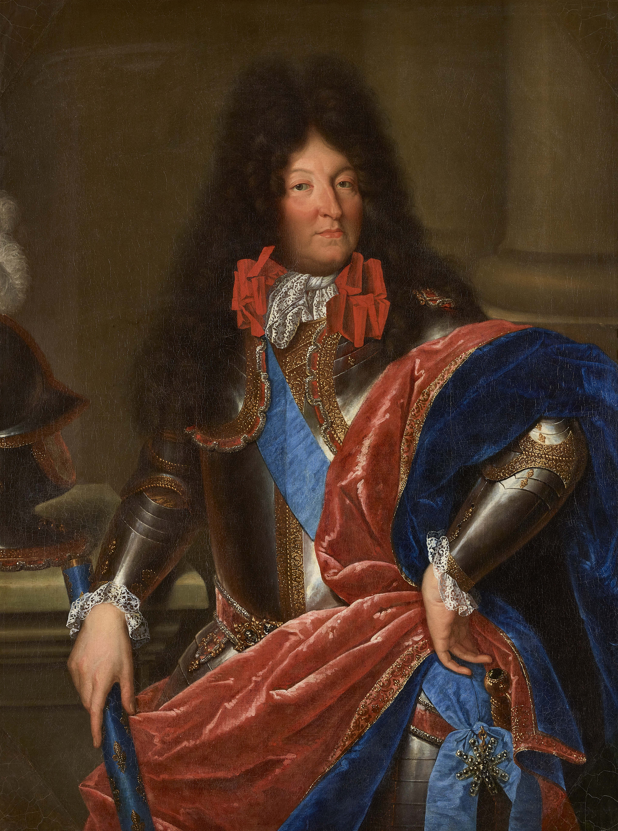 Portrait of Louis XIV (1638-1715), King of France (1643-1715), Regency (1643-1651), 1685 | Portraits of Kings