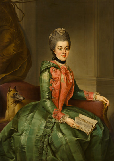 Portrait of Wilhelmina of Prussia (1751-1820), Princess consort of Orange (1767-1806), 1769 | Portraits of Kings