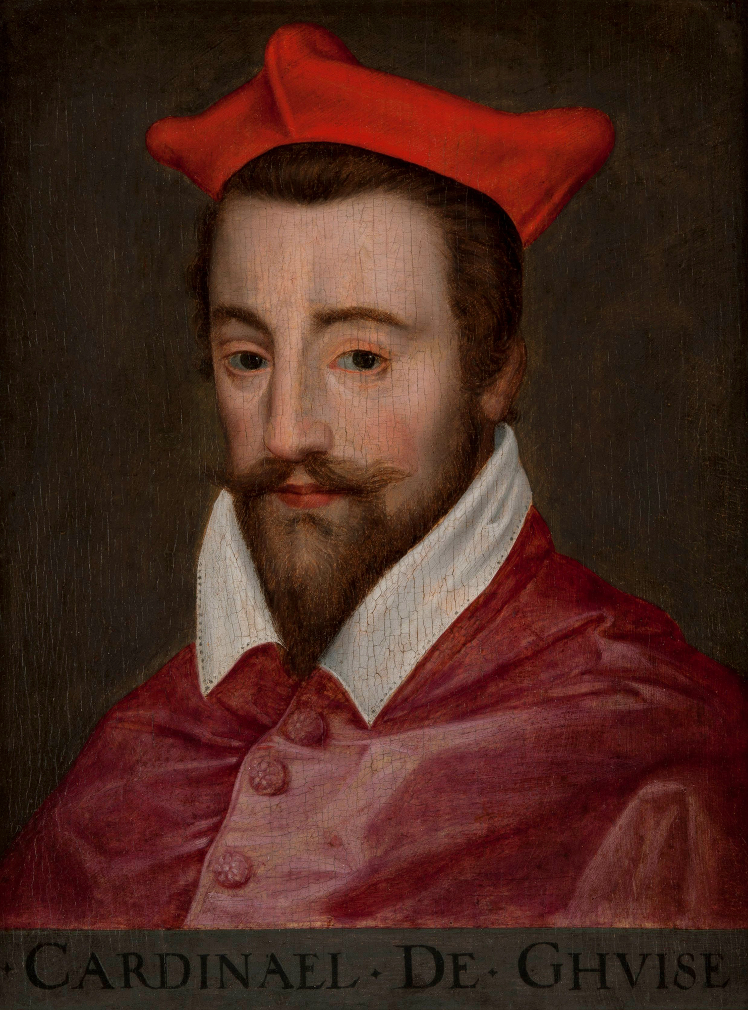 Portrait of Louis II de Lorraine (1555-1588), Cardinal of Guise (1578), Archbishop of Reims (1574-1588) | Portraits of Kings