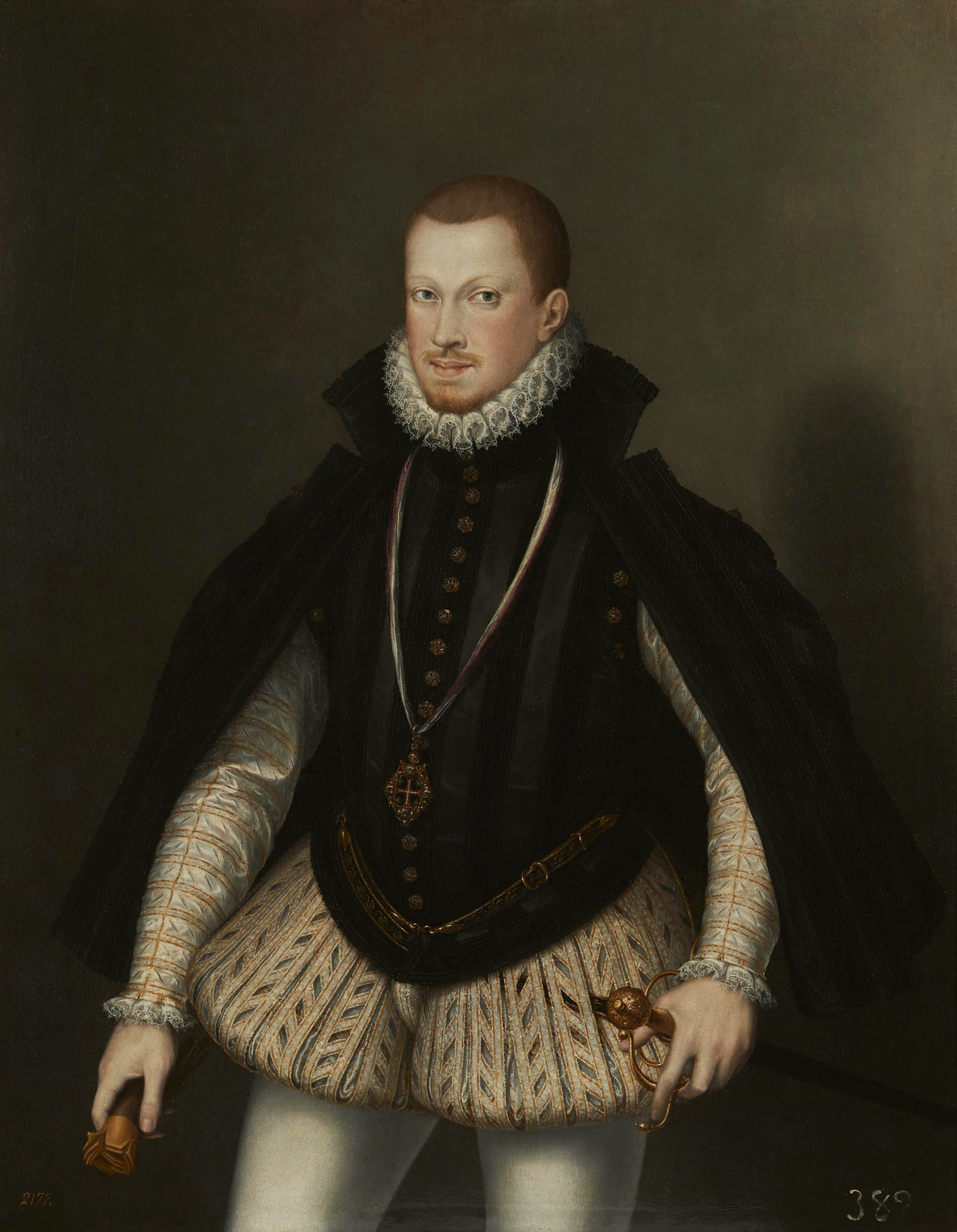 Portrait of Sebastian I (1554-1578), King of Portugal and the Algarves (1557-1578), Regency (1557-1568), 1575 | Portraits of Kings