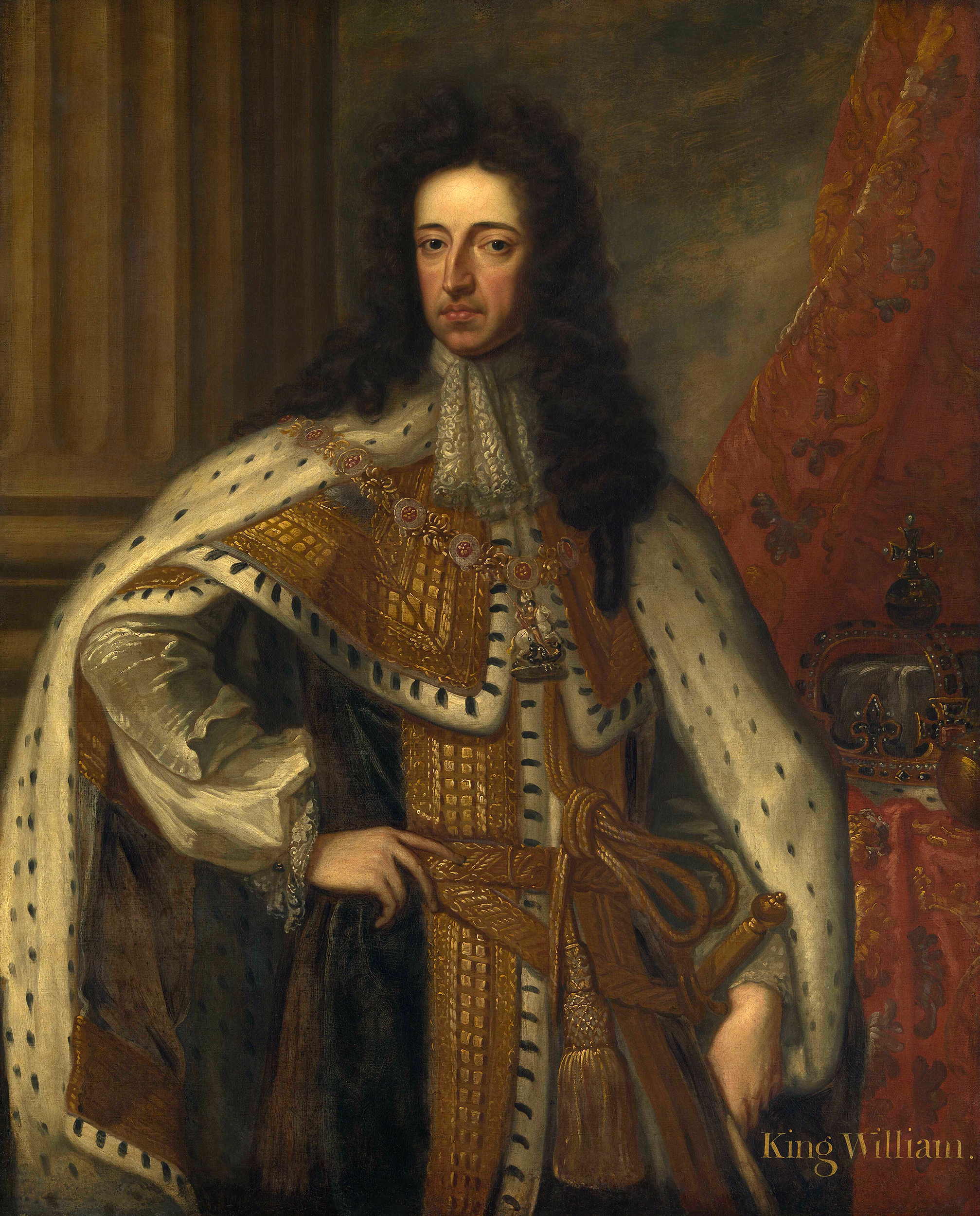 Portrait of William III (1650-1702), King of England, Scotland, and Ireland (1689-1702), Prince of Orange (1650-1702), Stadtholder of Holland,  Zeeland and Utrecht (1672-1702), Stadtholder of Guelders and Overijssel (1675-1702) | Portraits of Kings