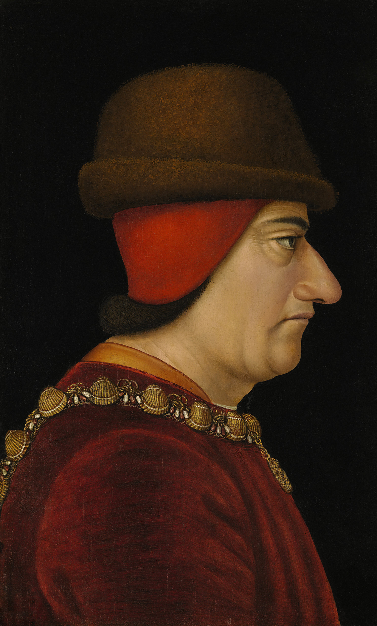 Portrait of Louis XI (1423-1483), King of France (1461-1483), 1470 | Portraits of Kings