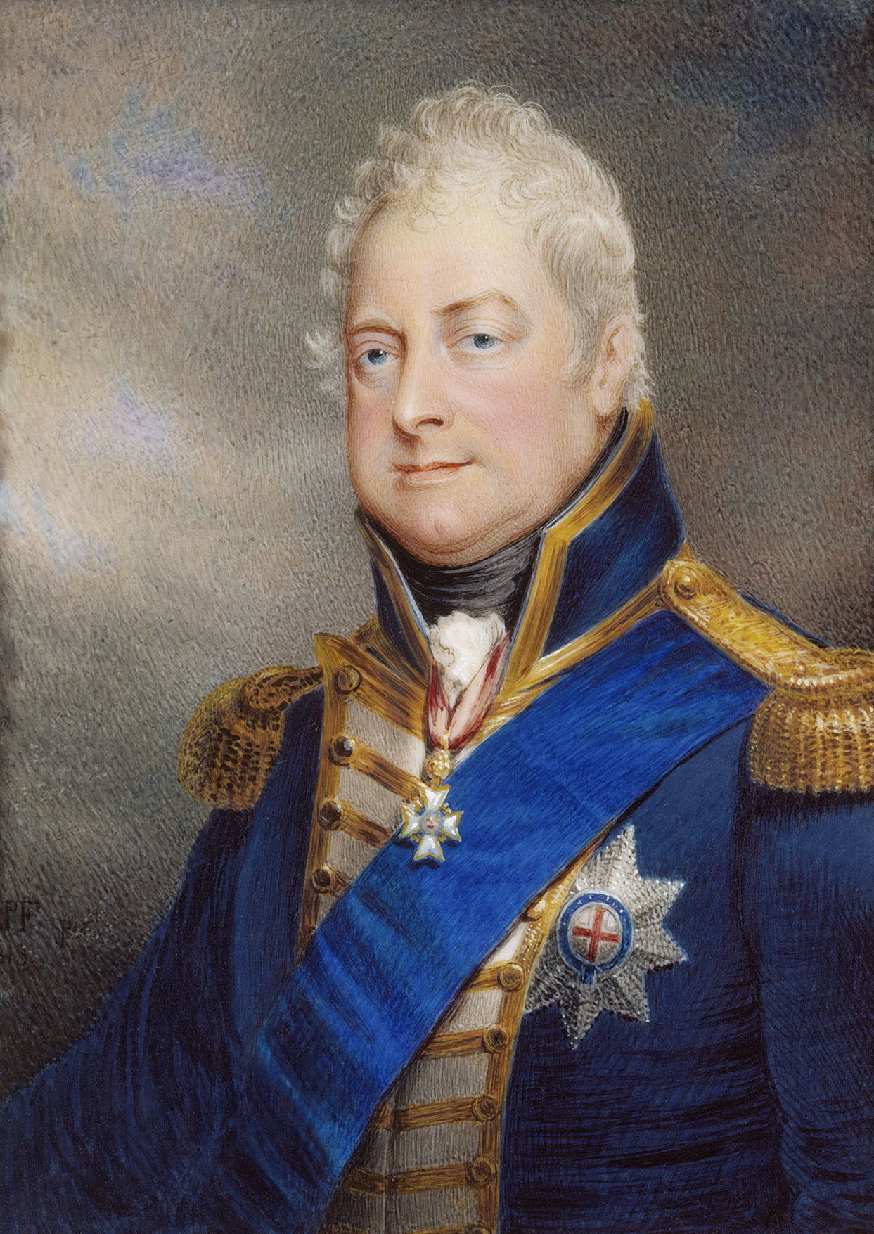 Portrait of William IV (1765-1837), King of the United Kingdom and King of Hanover (1830-1837), Duke of Clarence and St Andrews (1789-1830), Admiral (1798), Admiral of the Fleet (1811), Lord High Admiral (1827-1828), 1837 | Portraits of Kings