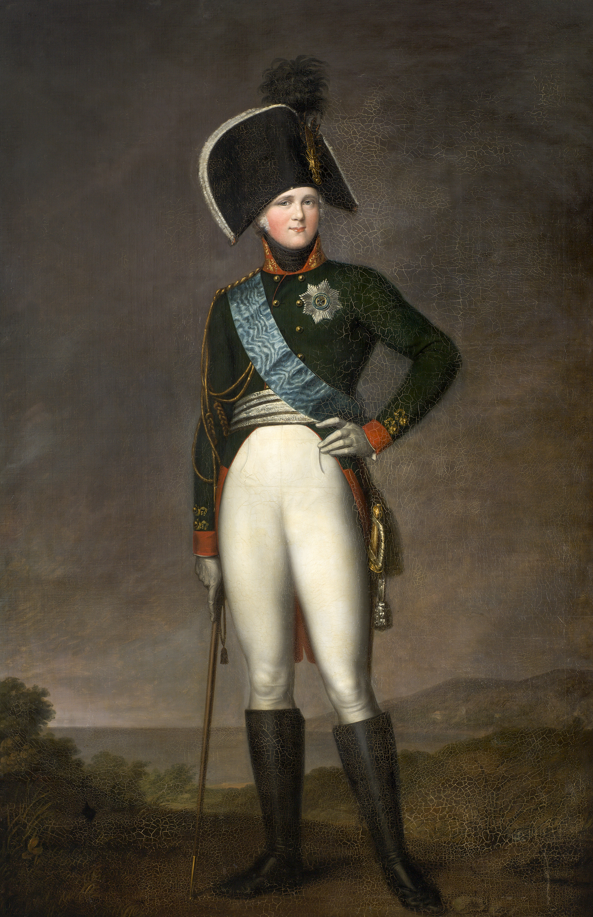 Portrait of Alexander I (1777-1825), Emperor of Russia (1801-1825), Grand Duke of Finland (1809-1825), King of Poland (1815-1825), 1801 | Portraits of Kings
